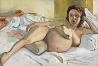 María embarazada- Alice Neel