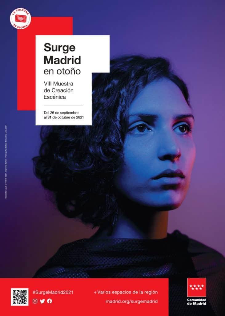 Cartel Surge Madrid en otoño 2021-Comunidad de Madrid