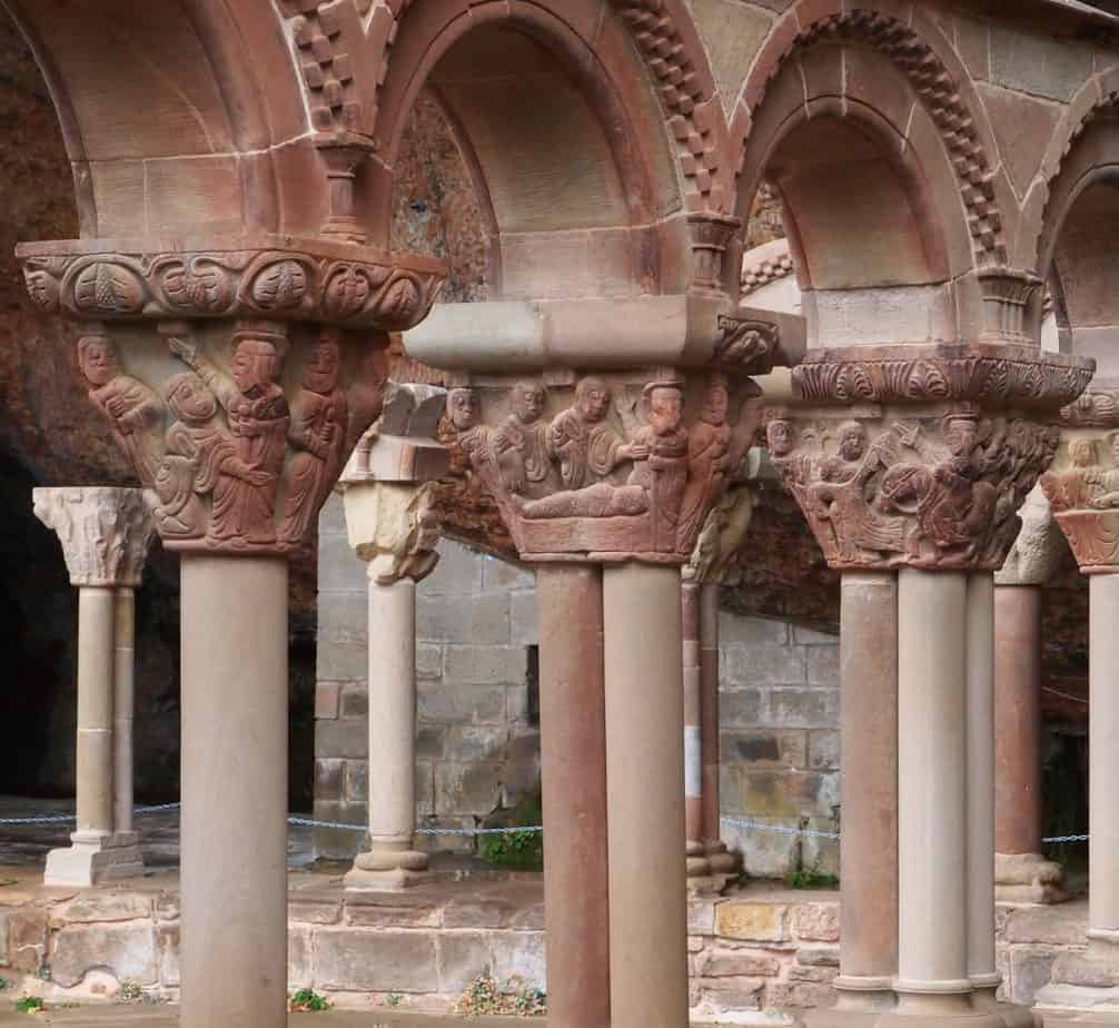 Claustros románicos. San Juan de la Peña